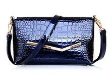 Europa rindsleder stil Einfache Trend Handtaschen Alligator Umhängetasche Taschen Bat Pack rosa klassische mehrere farben