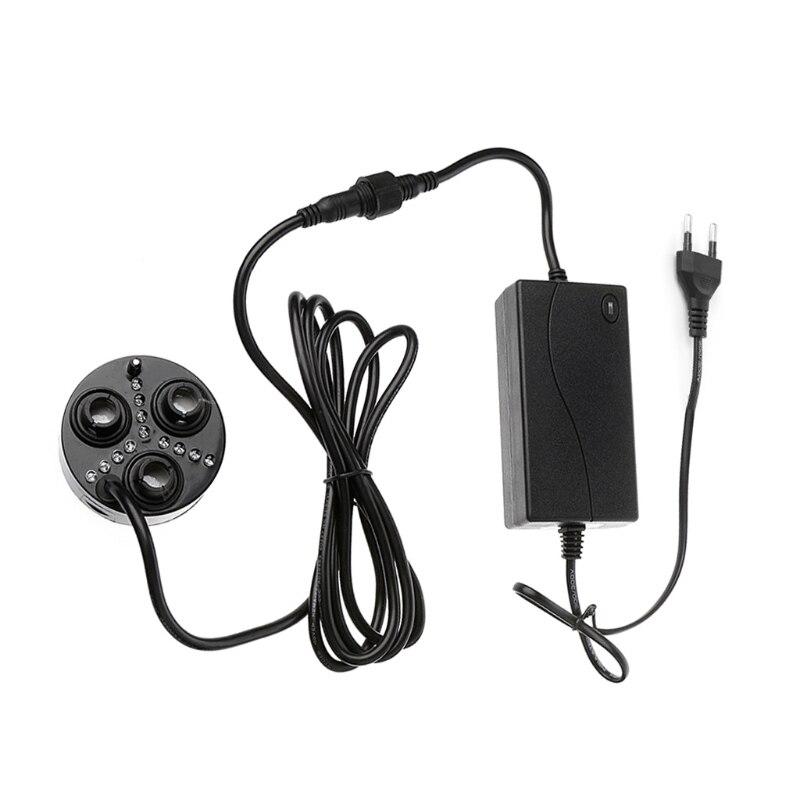 3 Head Mist Maker Atomizer Ultrasonic Air Humidifier Fogger