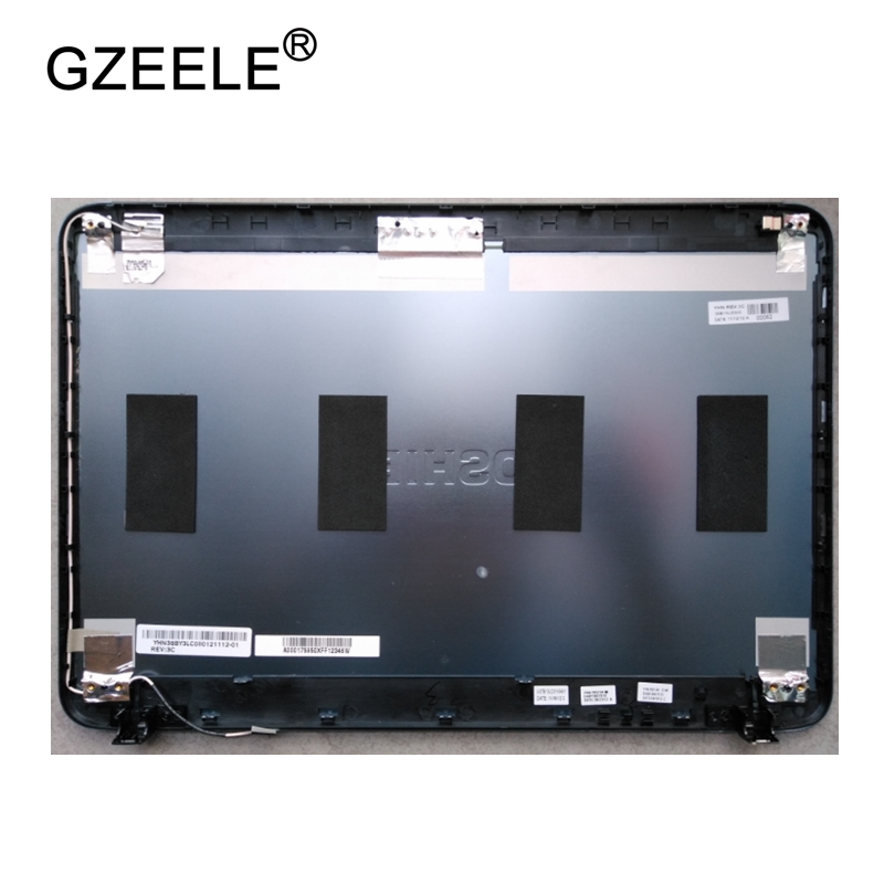 GZEELE New LCD top case Rear Display cover Assembly For Toshiba Satellite L800 L840 L845 back cover back shell A CASE new laptop for toshiba satellite p55t a5202 p55t a5118 lcd back top cover fit touchscreen a shell