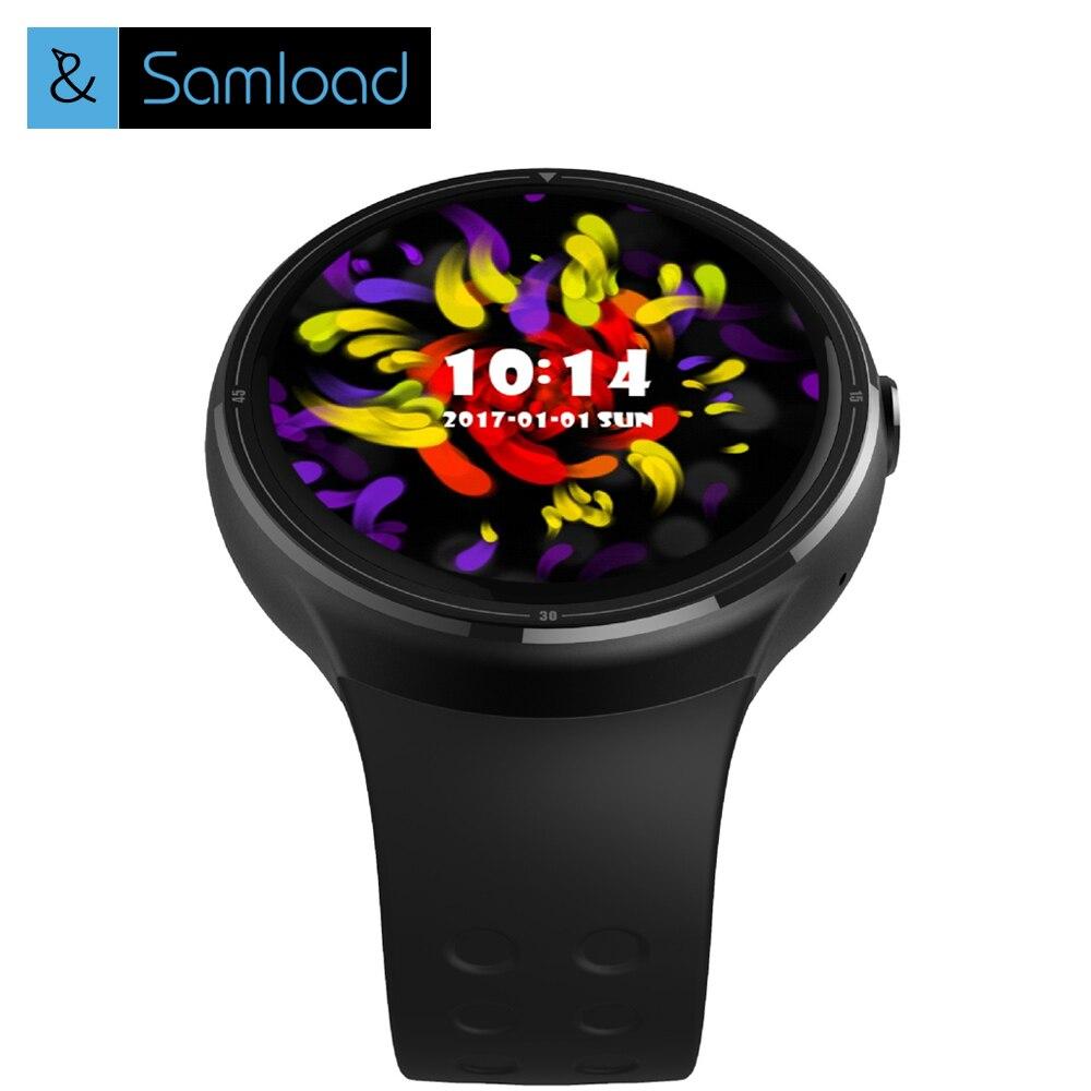 Samload Newest Z10 Bluetooth Smart Watch Android 5.1 1GB + 16GB GPS WiFi Nano SIM card 3G Wristwatch Men's Smartwatch relogio