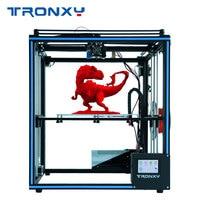 High precision Auto leveling Tronxy X5SA DIY 3d Printer Full metal 3d machine 3.5 inches Touch screen