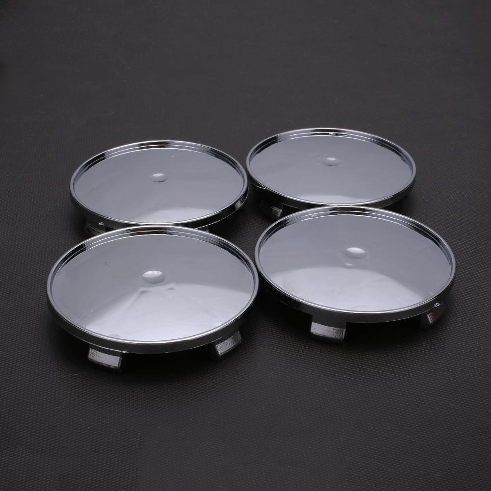 4Pcs Silvery White Car Wheel Hub Cover Wheel Hub Center Caps Rim Cover No Logo Auto Replacement Parts Fit the wheel of 68mm-65mm4Pcs Silvery White Car Wheel Hub Cover Wheel Hub Center Caps Rim Cover No Logo Auto Replacement Parts Fit the wheel of 68mm-65mm