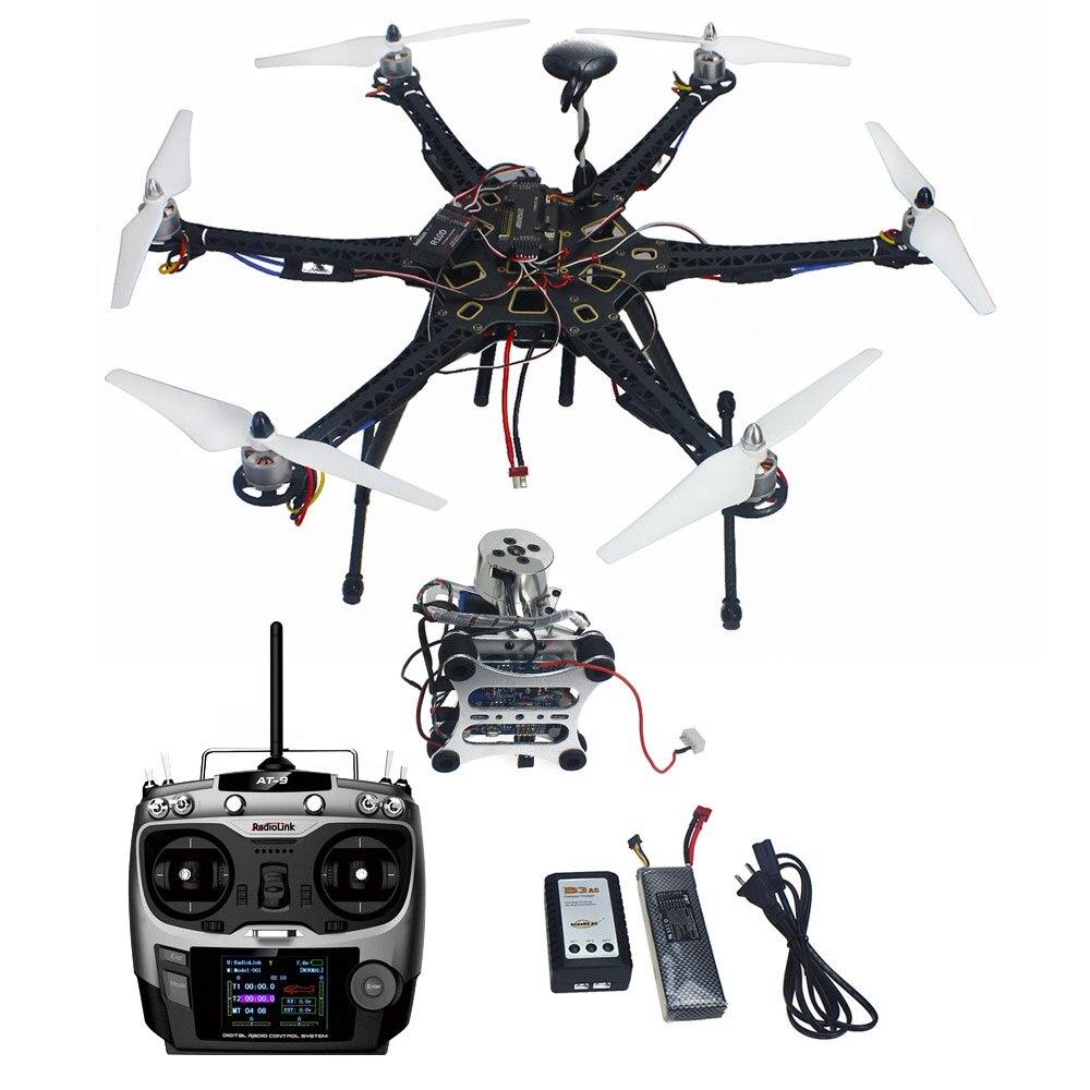 JMT собраны HMF S550 F550 Обновления rtf комплект с Шасси и APM 2.8 Игровые джойстики GPS Компасы и Gimbal f08618 m