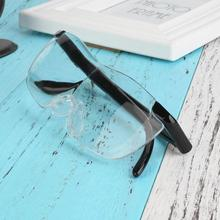 10pcs Vision Pro Plastic glasses 250 /160 degrees Magnifying Eyewear Magnifiers glass Magnifier Gift For Adult New Year
