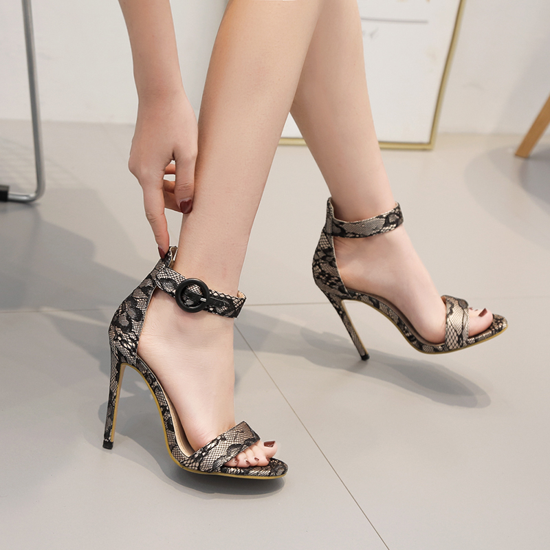 Women Ankle Strap Sandals Silk ribbon Stiletto heels Fashion Pointed toe Ladies Fashion shoes 2019 New Women Sandals sexy shoes in High Heels from Shoes