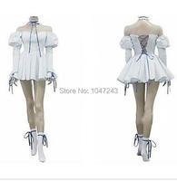 Chobits Chii Cosplay Blue Lolita Home Maid Costume Dress
