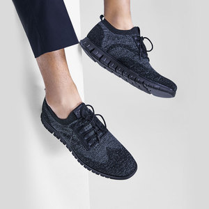 Image 2 - شاومي الأصلي Coollinght سلسلة أحذية رياضية رجال الأعمال أحذية لينة بروك حذاء كاجوال