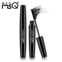 MSQ Beauty Makeup Thick Charm Eye Mascara Waterproof Easy To Blooming Long Curling Slim Beauty Tools
