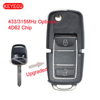 Keyecu Upgraded Remote Car Key Fob 2 Button For Subaru Baja Forester Impreza Legacy Outback P