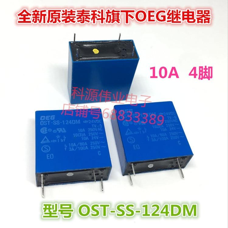 OST-SS-124DM 24VDC 10A 4PIN   SDT-SS-124DM