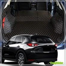 Для Mazda CX-5 2017 2018 специальные автомобиль задний багажник коврики