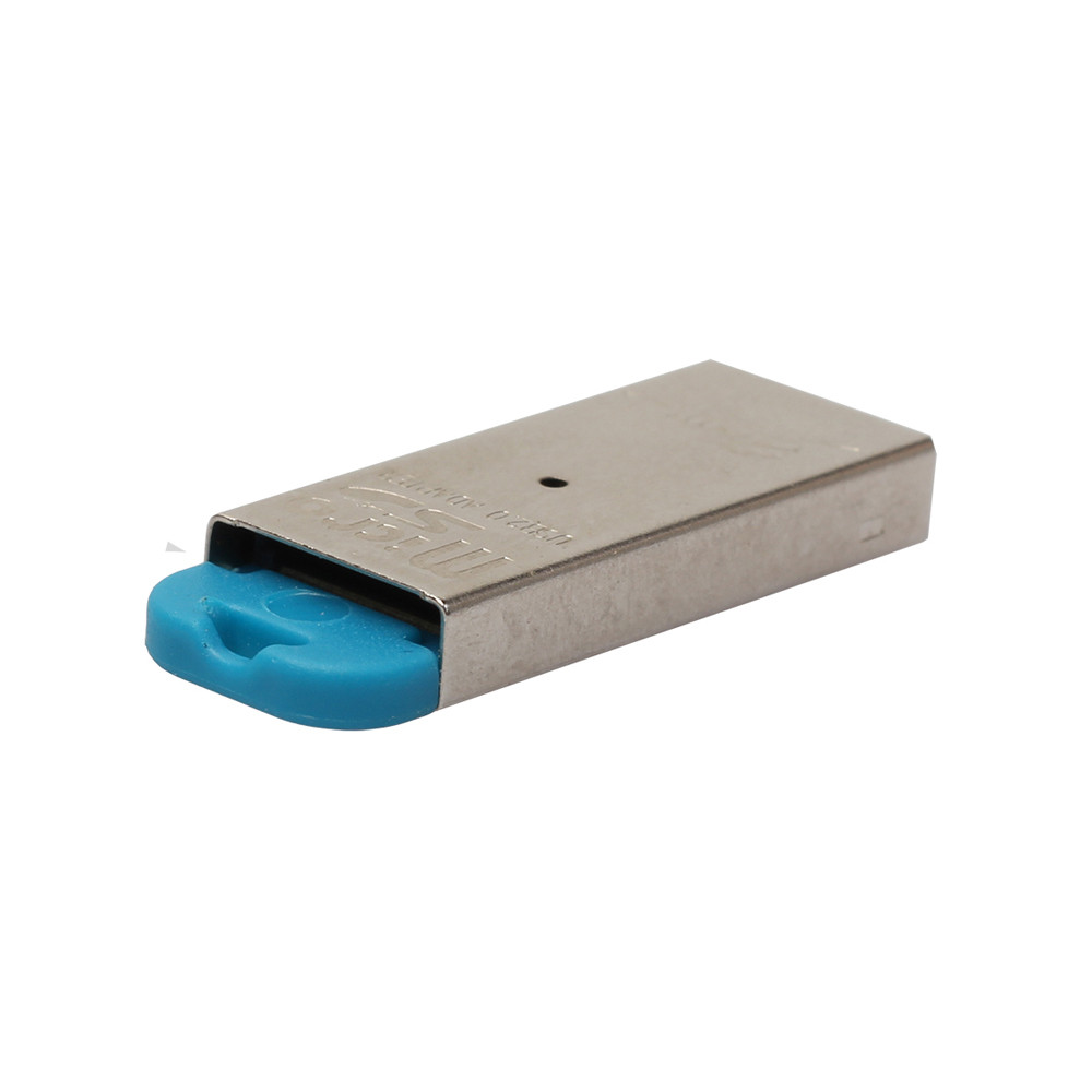 High Speed Mini USB 2.0 Micro SD TF T-Flash Memory Card Reader Adapter Mini size slim Highly durable plastic shell casing 63# 1