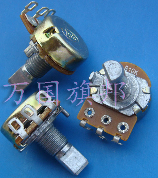 Free Delivery. WH148 Potentiometer B10K Single Three And A Half Feet Foot Cross Axis Short Shank