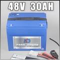1000 w 48 v Elektrische Fiets batterij 48 v 30AH Lithium Batterij 48 Volt 30AH Ebike batterij Gratis EU ONS douane Belasting