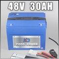1000W 48 V электрический велосипед Батарея 48 V 30AH литий Батарея 48 Вольт 30AH, фара для электровелосипеда в Батарея Бесплатная ЕС и США Таможенный н...