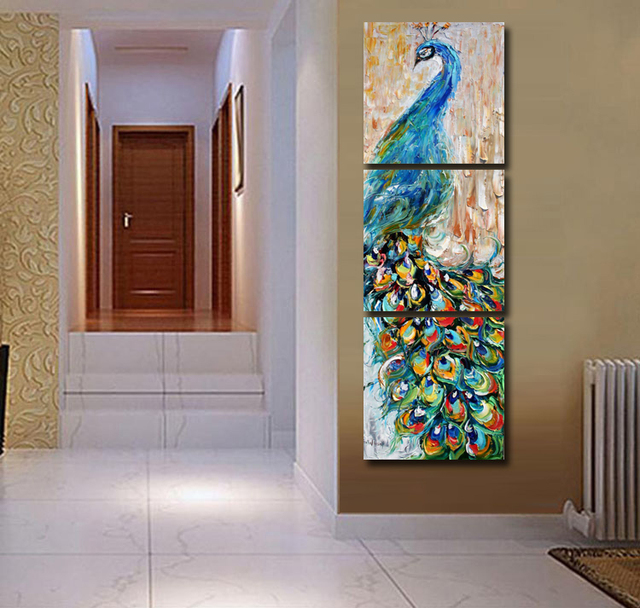 Brand-new 2017 Promotion New No Square Paintings Fallout Painting 3 Panels  OS12
