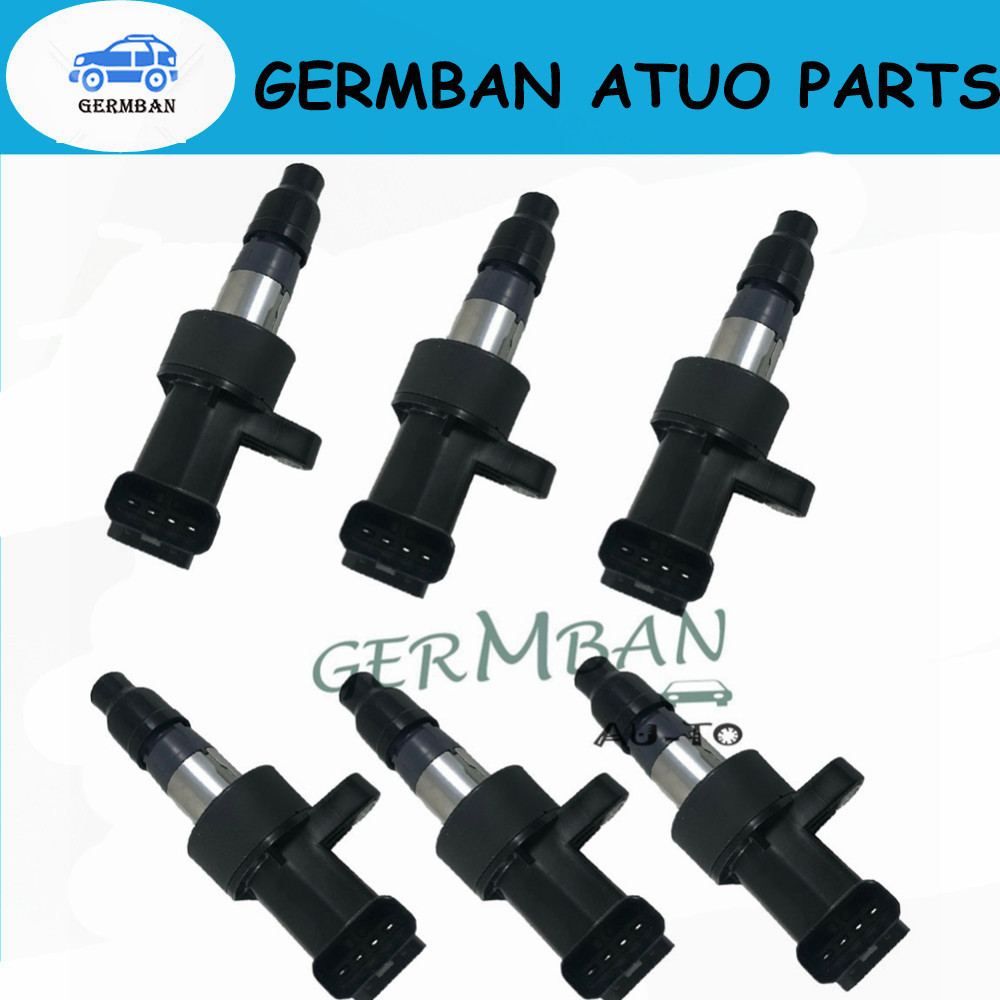Ignition Coil For JAGUAR S Type X Type XF XJ 2.0 2.2 2.5 3.0 V6 C2S11480 C2S42673 C2S7928 XR822478 UF435 6R8312A366BA UF 435|Ignition Coil| |  - title=