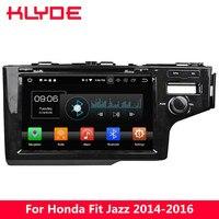 KLYDE 9 ips 4G Android 8,0 Octa Core 4G B Оперативная память 32 ГБ Встроенная память RDS DVD мультимедиа плеер радио gps для Honda Fit Jazz 2014 2015 2016
