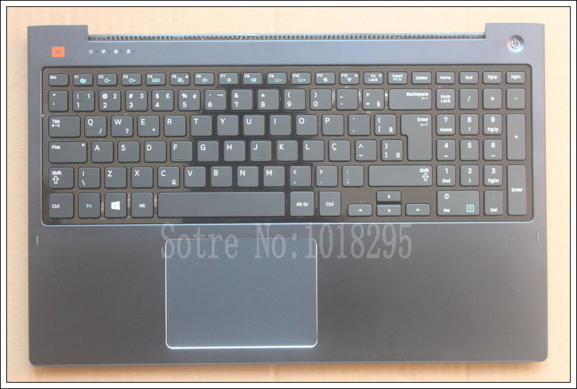 laptop  for samsung 770Z5E NP770Z5E 780Z5E NP780Z5E NP880Z5E 670Z5E  Brazil  keyboard with Palmrest Cover BR BA75-04635P portugal brazil br layout new laptop keyboard with touchpad palmrest for samsung series 5 550p5c np550p5c