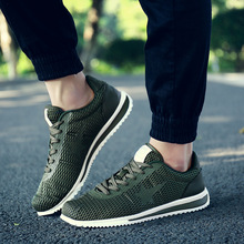 Купить с кэшбэком Centenary Spring and summer breathable mesh fashion casual shoes Sweat-Absorbant  mens sneakers casual  Light  men shoes