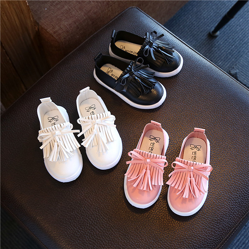 Excellent elegant Cute Lovely baby girls shoes hot sales fashion Fringe tennis baby sneakers Slip on rubber baby toddlers