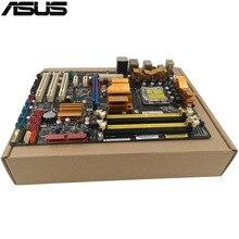 Original Occasion de luxe De Bureau carte mère Pour ASUS P5Q P45 Soutien Socket LGA 775 Maximum DDR2 16 GB SATA2 USB2.0 ATX