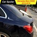 Для mercedes w205 2014-2018 ABS спойлер автомобильное украшение в виде хвостового крыла задний спойлер багажника для Benz W205 C180 C200 C260 C280 C300 C63