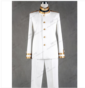 Anime Axis Powers Hetalia Honda Kiku Japan Cosplay Costume APH Army navy uniform unisex set