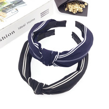 Fashion Girl Turban Headband Elastic Hairband Hair Accessories for Girls No Slip Stay on Knotted Head Band Hair Band for Women все цены