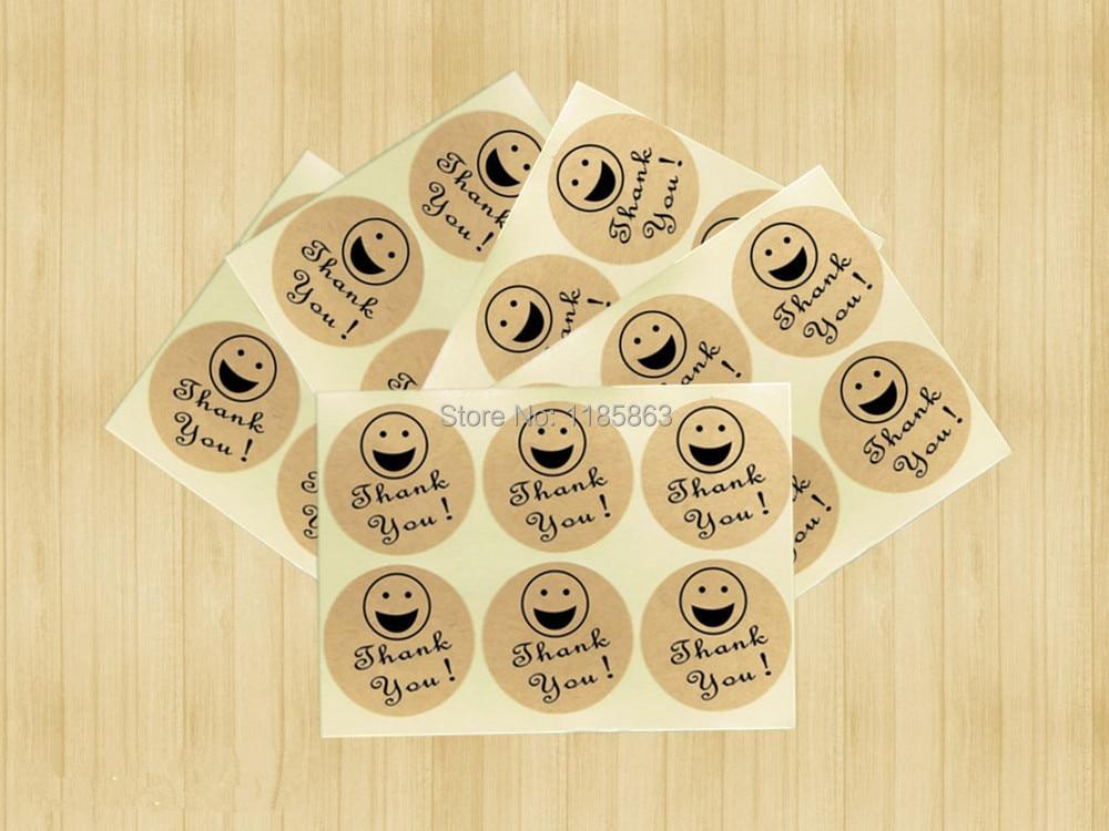 Personnalisé Lion 24 Parti Sac Autocollants Sweet Cône Étiquettes Merci Mignon