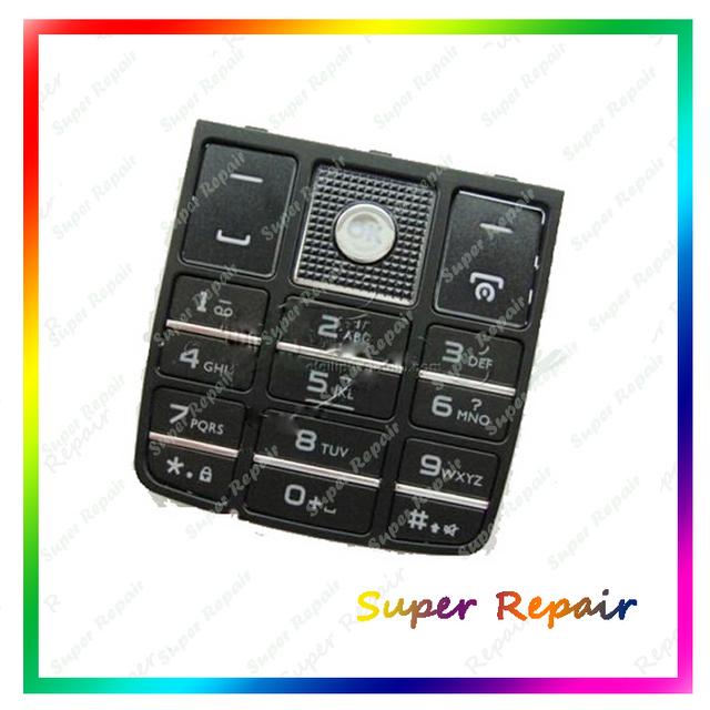 Novos teclados teclado habitação para philips xenium x5500 ctx5500 x5500 preto cor + ferramentas frete grátis