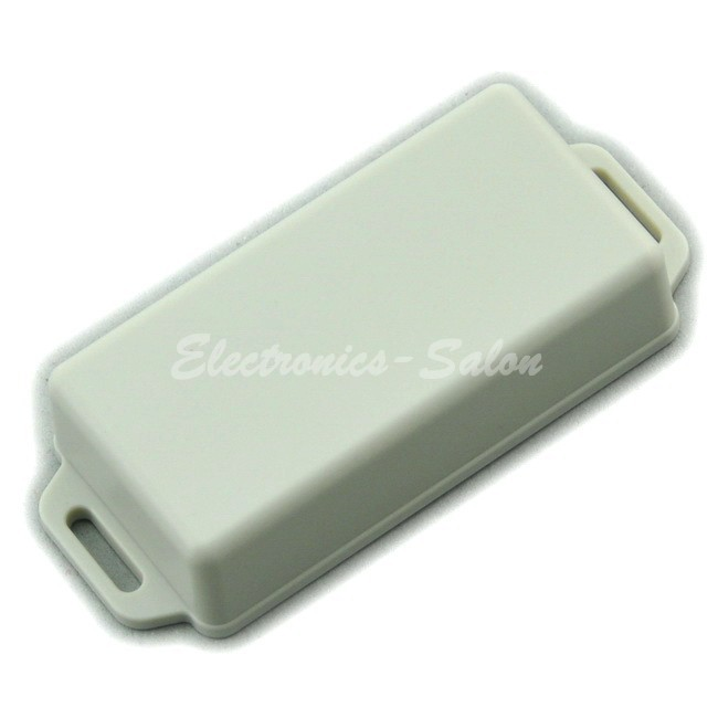 Small Wall-mounting Plastic Enclosure Box Case, White,81x41x20mm, HIGH QUALITY.
