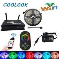 LED Strip Light 5050 RGB Waterproof 30led M Diode Flexible Tape 4m 8m 12m 16m Smart