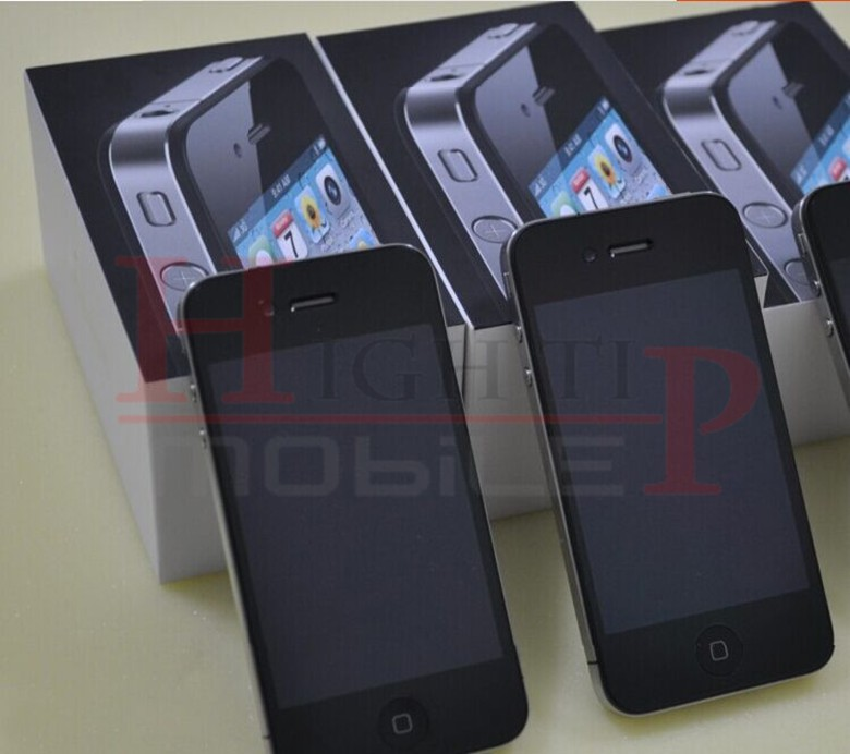 Sealed Apple iPhone 4 iOS 8GB 16GB 32GB ROM 3.5 inches 5MP Camera WIFI GPS Cell Phone 16gb black 1