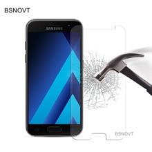2PCS Tempered Glass For Samsung Galaxy A5 2017 Phone Screen Protector For Samsung A5 2017 Glass For Samsung A5 2017 Film A520 samsung galaxy a5 2017 черный