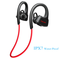 Original DACOM P10 IPX7 Waterproof Sports Wireless Headphones Bluetooth 4 1 Headset Swimming Headphone Earbuds Music