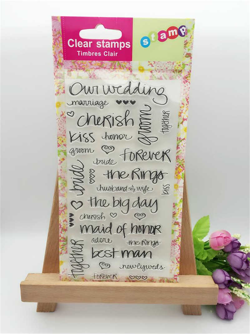 New arrivalflowers whisperdiy scrapbooking Transparent Stamp Clear Stamp For DIY Photo Album for paper card CL-255 the whisper