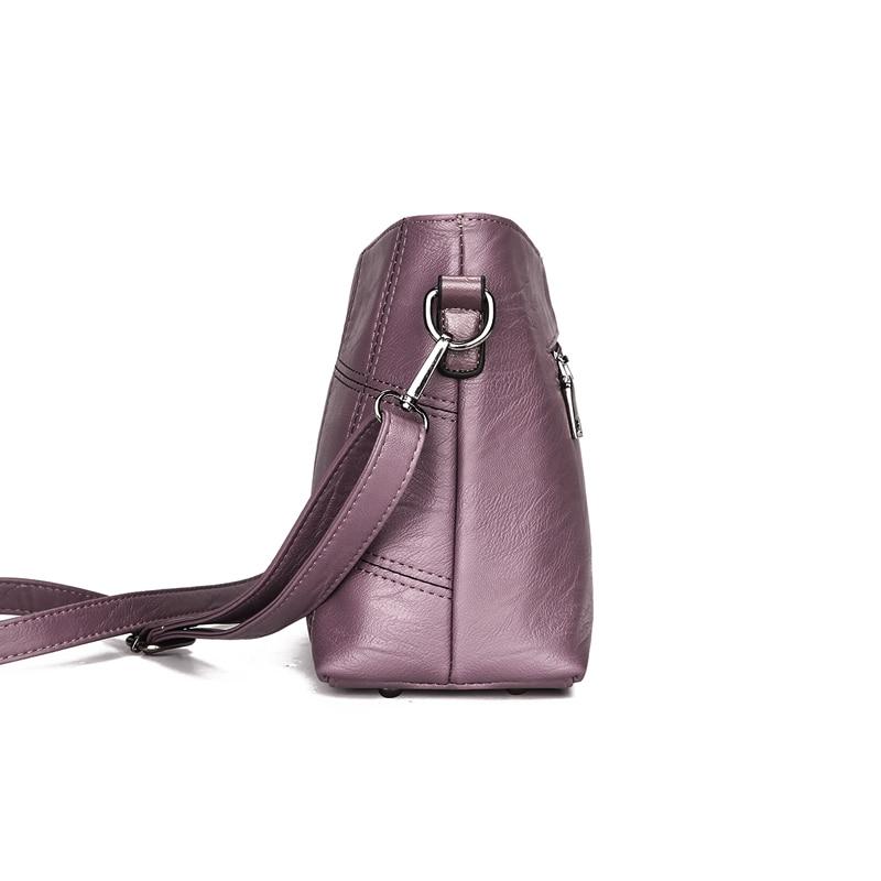 Women bag PU Leather Plaid Messenger Bags Sac a Main Shoulder Bags Women Crossbody Bag Ladies High Quality Women Handbags