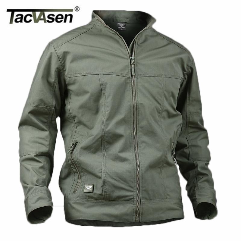 TACVASEN Military Men Jacket Waterproof Anti-Pilling Tactical Jacket Softsell Summer Spring Breathable Army Jacket TD-YCXL-018