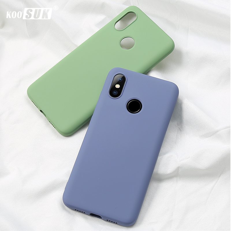 <font><b>Xiaomi</b></font> <font><b>Mi</b></font> <font><b>A2</b></font> 6X Original Liquid Silicone Case Koosuk Ultra Thin Soft Back Cover For <font><b>Xiaomi</b></font> <font><b>Mi</b></font> 6x <font><b>a2</b></font> <font><b>MiA2</b></font> Mi6X Phone Full Bags image