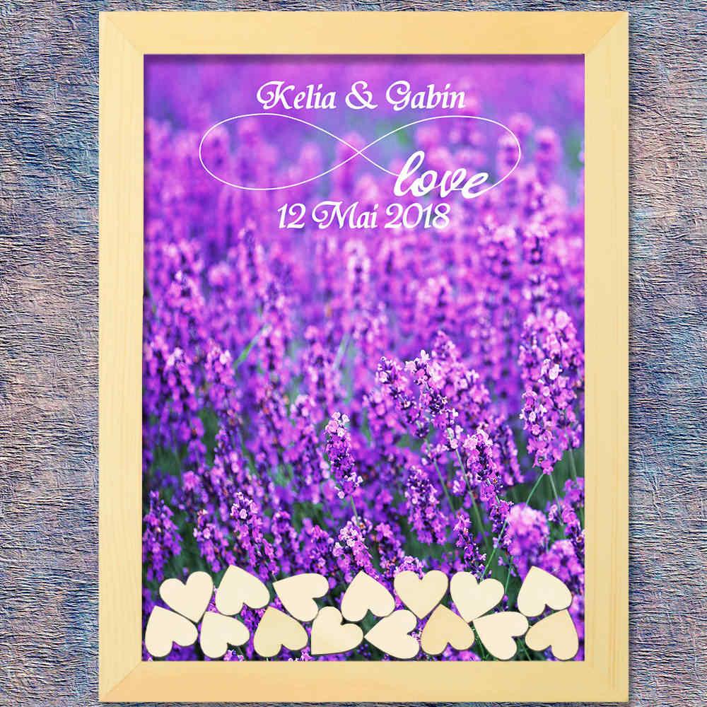 Casamento Livro de Visitas Livro de Convidados do casamento Decoração de Casamento Rústico Doce 120 pcs Pequenos Corações De Madeira