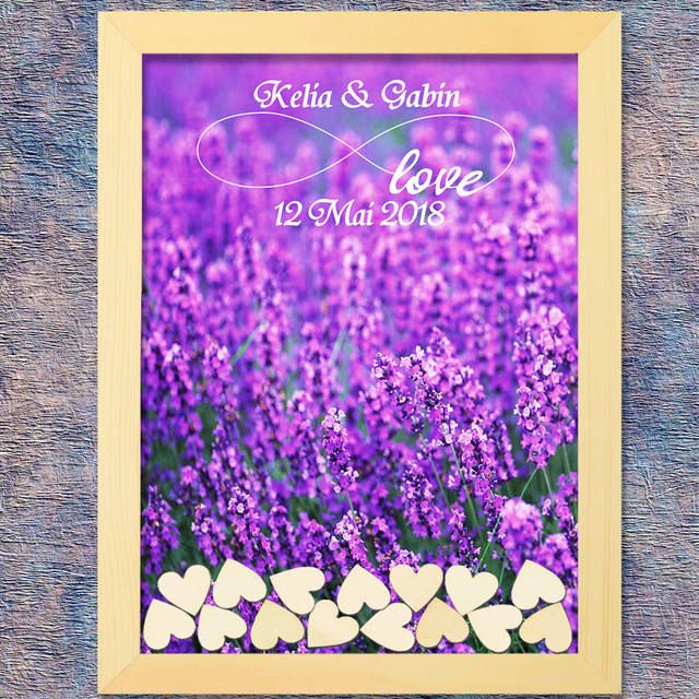 Wedding Frame Style Guest Book