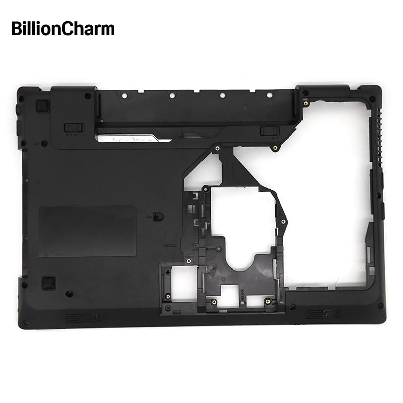BillionCharm New Laptop Bottom Cover For Lenovo G570 G575 Bottom Case Base Black With HDMI Accept Model Customization