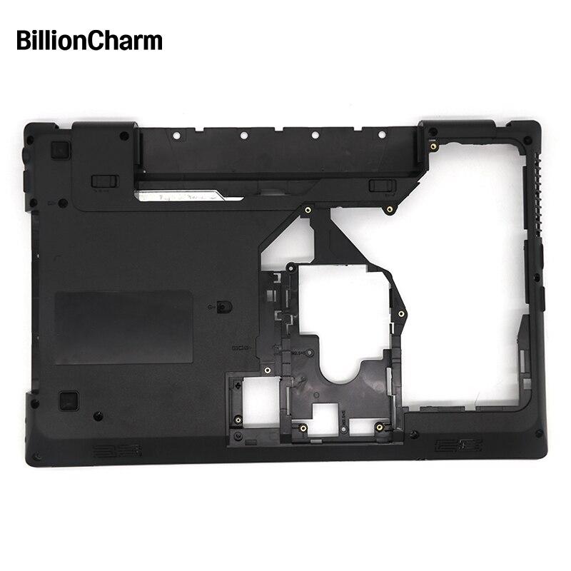 Billioncharm novo portátil capa inferior para lenovo g570 g575 fundo caso base preto com hdmi aceitar personalização modelo