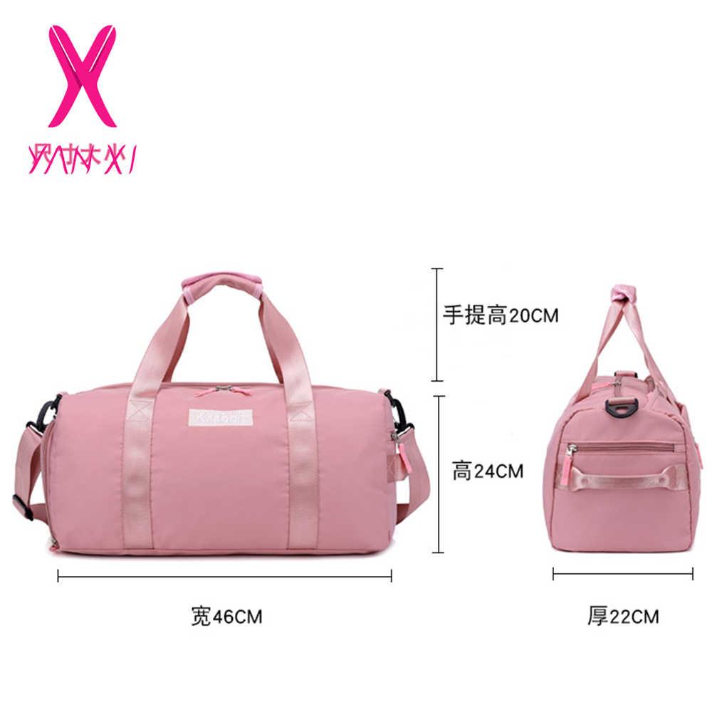 5056620afda1 ... YANXI New Multi Functional Nylon Women Travel Bag Travel Tote Large  Capacity Luggage Bags Lady Waterproof