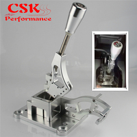 Manual Billet Shifter Box W/ Gear Knob Fits For Acura RSX Fits For Civic K swap EG EK DC2 EF