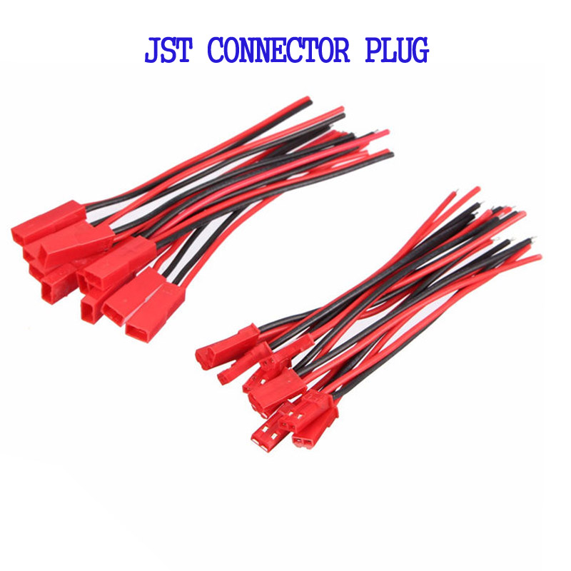 JST Connector Plug With Connect Cable For RC BEC ESC Battery