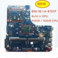 Genuíno novo ziwb0/b1/e0 LA B101P rev: 1a para lenovo B50 30 computador portátil placa mãe com n3530 n3540 cpu|Placas-mães| |  -
