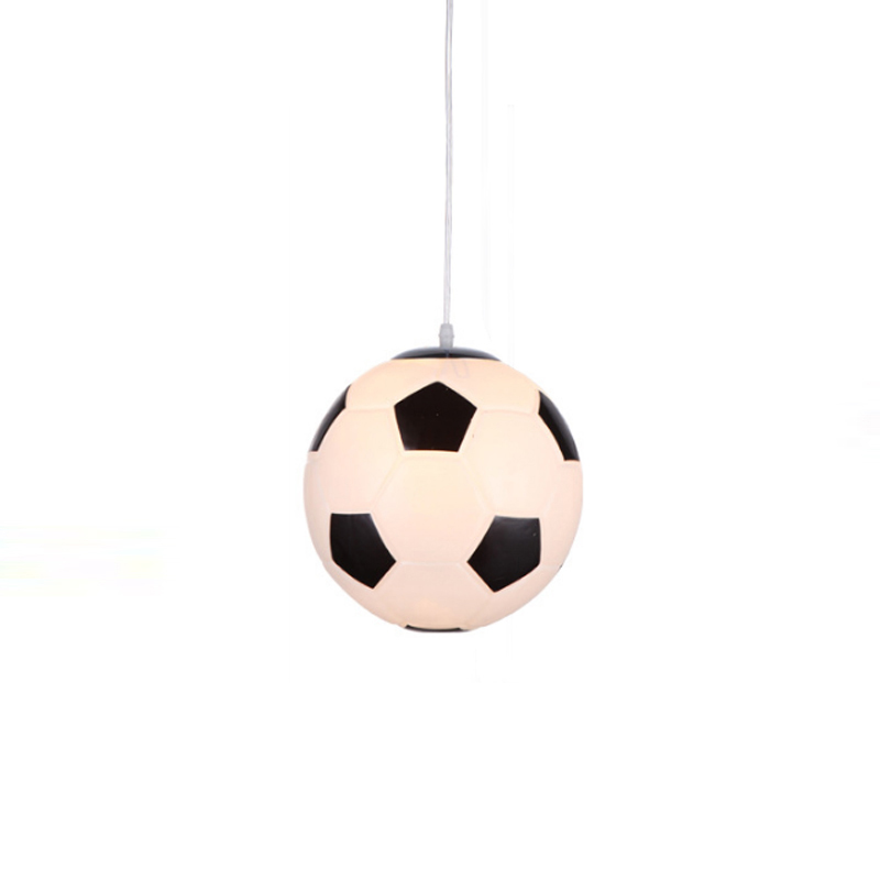 Nordic LED Pendant Lights Modern Children Room Glass Football Shaped Pendant Lamp Living Room Lovely Light Deco Kitchen FixturesNordic LED Pendant Lights Modern Children Room Glass Football Shaped Pendant Lamp Living Room Lovely Light Deco Kitchen Fixtures