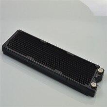 В modx 360 мм Медь радиатор теплообменника водяного охлаждения 12 пробирок